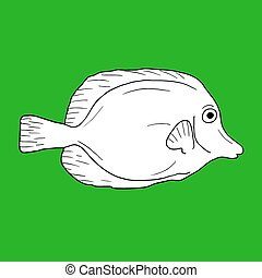 Green fish - Creative design of Green fish
