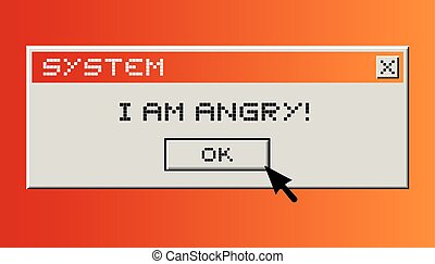 i am angry - Creative design of i am angry