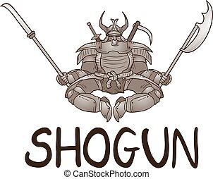 Shogun symbol - Creative design of Shogun symbol