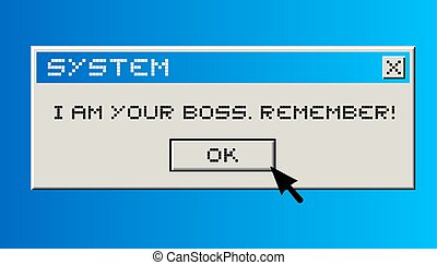 Your boss - Creative design of Your boss