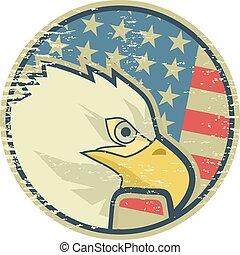 Old eagle