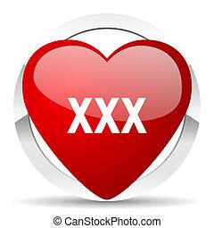 xxx valentine icon porn sign