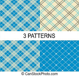 3 striped vector patterns
