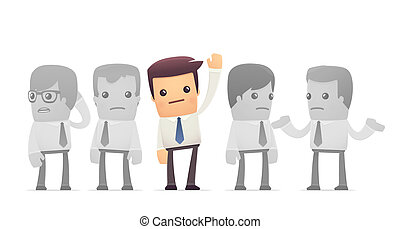 elected employee conceptual illustration