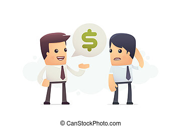 inability to pay debt conceptual illustration