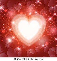 valentines heart background 1612 - Valentines Day background...