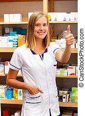 I Love To Be a Pharmacist! - Professional health care worker...