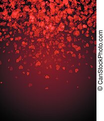 Abstract background s hearts - Abstract Background...