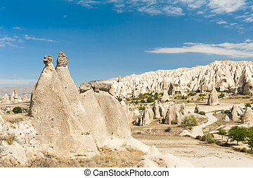 Goreme - Spectacular teeth-like rock formation and old...
