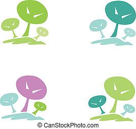 Trees pictogram