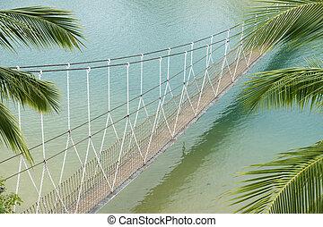 hanged bridge