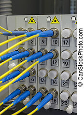 Optical fibre information technology