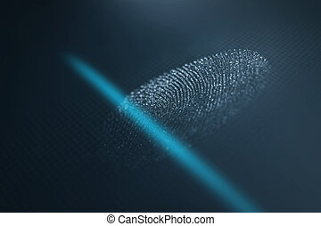 Fingerprint scanner Fingerprint identification