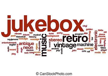 Jukebox word cloud