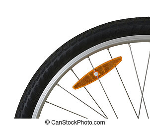 bicycle tire detail
