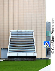 Ventilation equipment - Ventilation device by the wall of an...