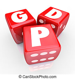 GDP Gross Domestic Product National Manufacturing Goods...