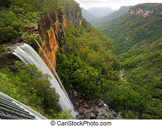 Fitzroy Falls Balcony View - Views of Fitzroy Falls from the...