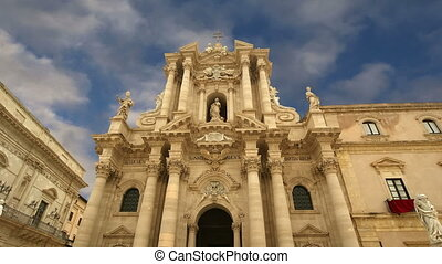 CATHEDRAL OF SYRACUSE,Sicily, Italy - CATHEDRAL OF SYRACUSE...