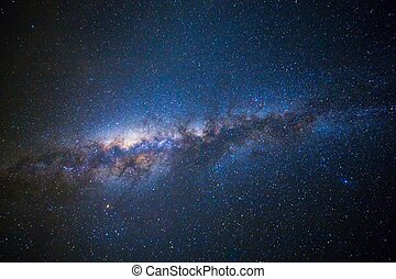 Milky Way - Wide field long exposure photo of the Milky Way