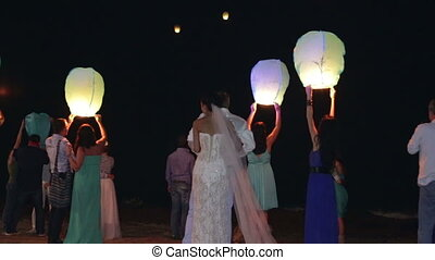 Chinese lanterns - PARVORIM, GOA/INDIA - JANUARY 14, 2014:...