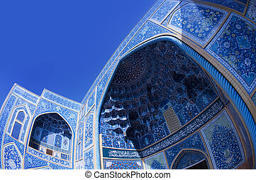 Sheikh Lotf Allah Mosque. - Sheikh Lotf Allah Mosque in...