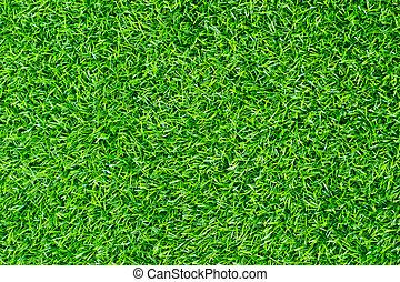 Artificial green grass background