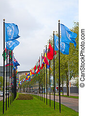 United Nations offices in Hague, Netherlands