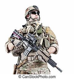 nós, exército, ranger, ,