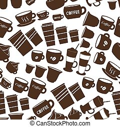 coffee cups and mugs sizes variatio
