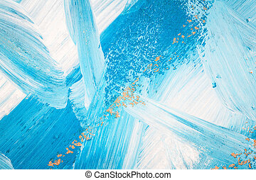 Abstract art background - Abstract hand painted art...
