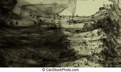 Ink in water abstract cloud effect