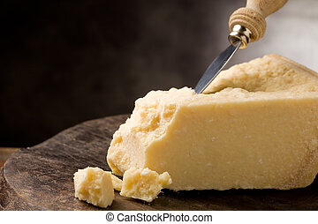 Parmesan Cheese - photo of delicious italian parmesan cheese...