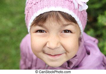 brown eyes - girl with brown eyes