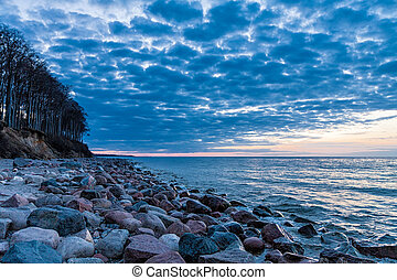 Stones on the Baltic Sea - Stones on shore of the Baltic Sea...