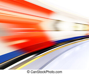 motion effect - abstract background like technology...