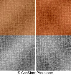 Set of seamless patterns in grunge style.