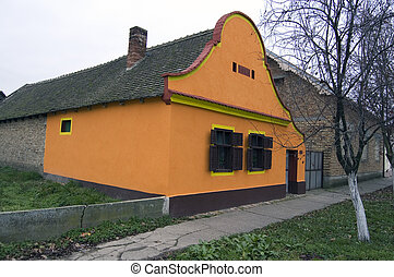 Old village haus - Old house located in the countryside in...