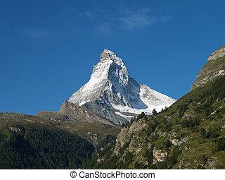 Matterhorn swiss  - matterhorn in swiss
