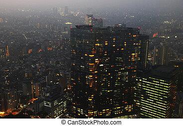 Shinjuku - TOKYO - CIRCA NOVEMBER 2013 - Shinjuku ward, the...