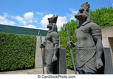 Hamilton Gardens - New Zealand - HAMILTON, NZL - JAN 10...