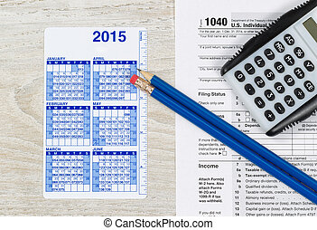 Yearly Tax Preparation Time