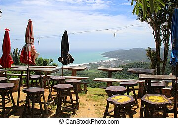 View over Phuket towards Karon beach