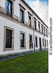 Building of Basque Parliament in Vitoria, Spain