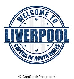 Welcome to Liverpool stamp - Welcome to Liverpool, Capital...