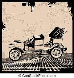 Retro Automobile poster