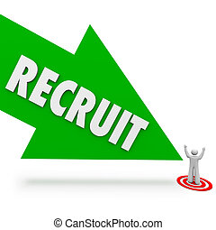 Recruit Arrow Hire Job Candidate Find Best Employee -...