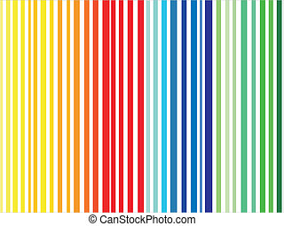 barcode in diferent colors