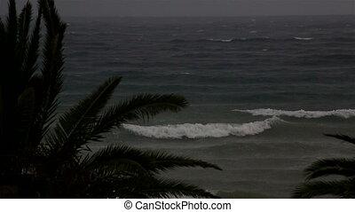 Storm on the Aegean Sea.