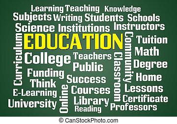 educación,